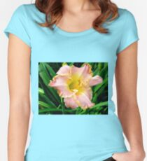 Just Peachy! Women's Fitted Scoop T-Shirt