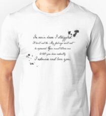 Mr Darcy Proposal Quote - Pride and Prejudice by Jane Austen Unisex T-Shirt