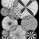 Zentangle®-Inspired Art - ZIA 53 by Laurel Storey, CZT
