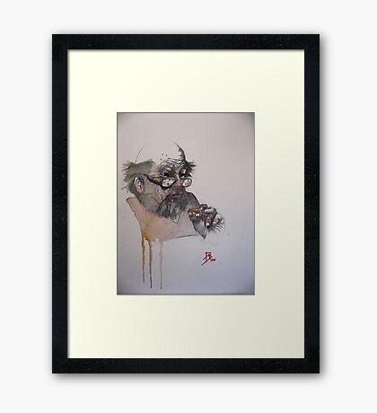 The Ink Spider Framed Print