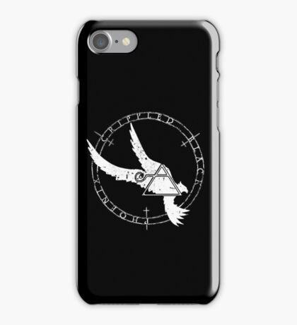 Crippled Black Phoenix 2015 A.D. (White V.1) iPhone Case/Skin