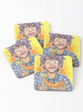 Fish Boy Coasters