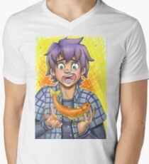 Fish Boy V-Neck T-Shirt