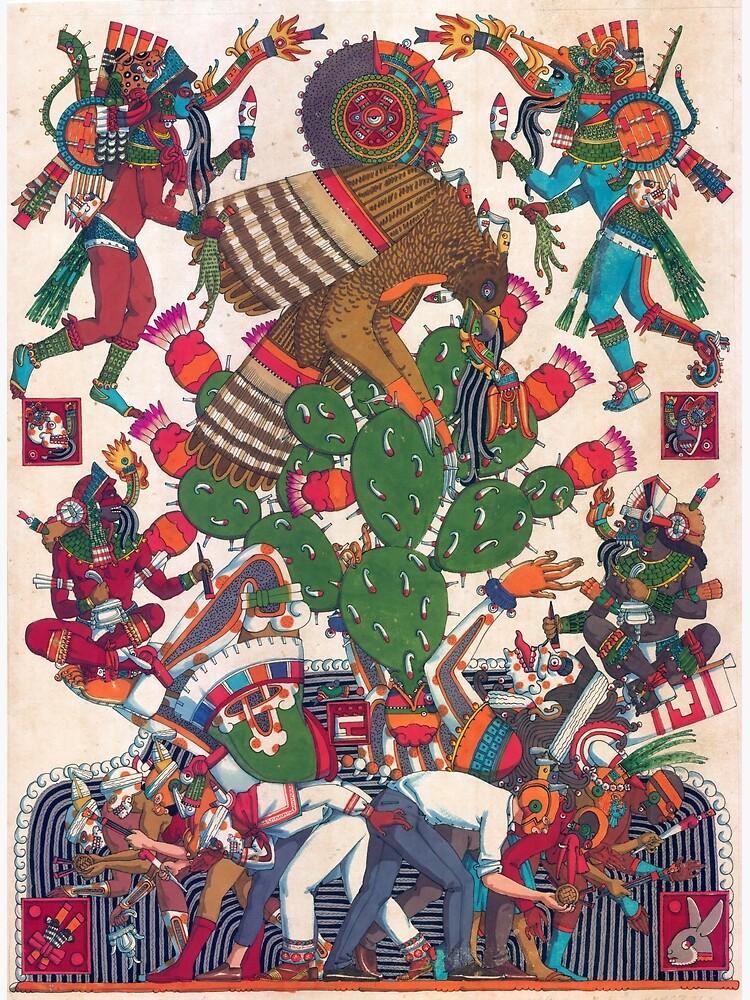 Teocalli Mexicana by CorazonMexica
