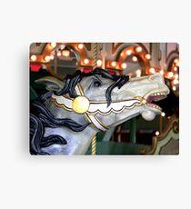 Prospect Park Carousel Canvas Print