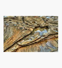 Sandstone Layers Photographic Print