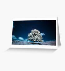 Tree (IR) Greeting Card