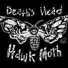 Death's Head Hawk Moth by GroglioArt