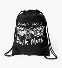 Death's Head Hawk Moth Drawstring Bag