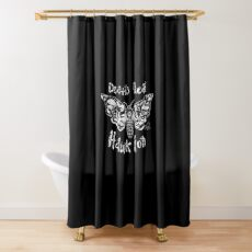 Death's Head Hawk Moth Shower Curtain