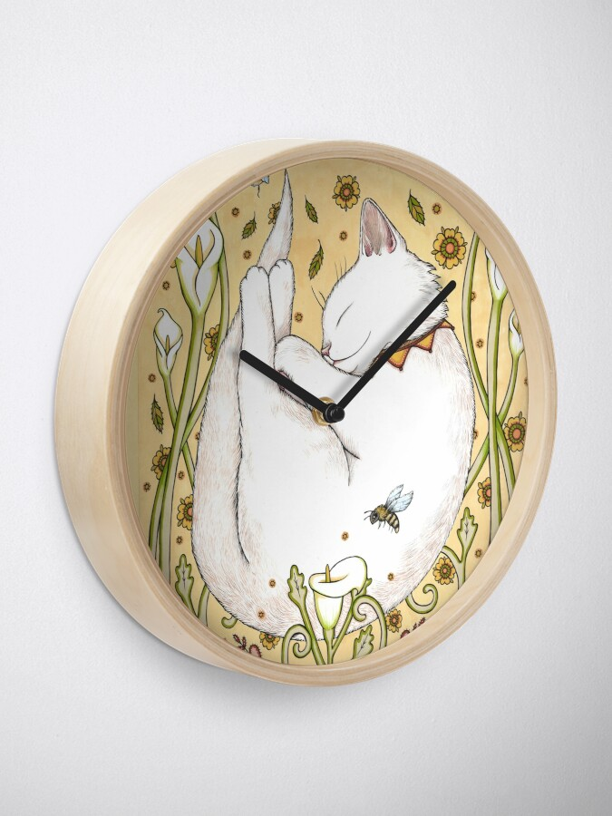 Alternate view of Butterflies and Bees Clock