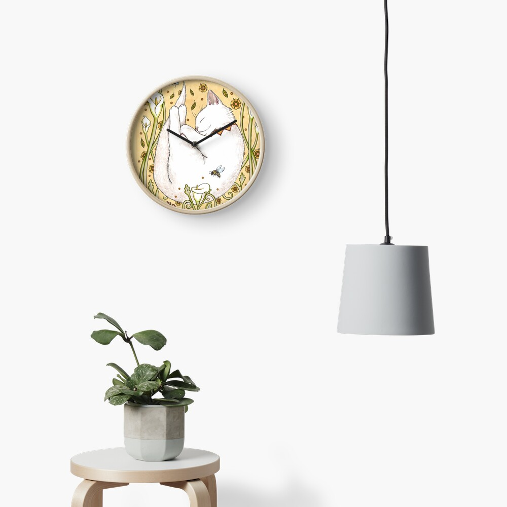 Butterflies and Bees Clock