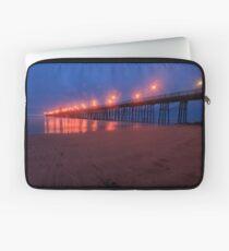 Oceanside Pier at Night Laptop Sleeve