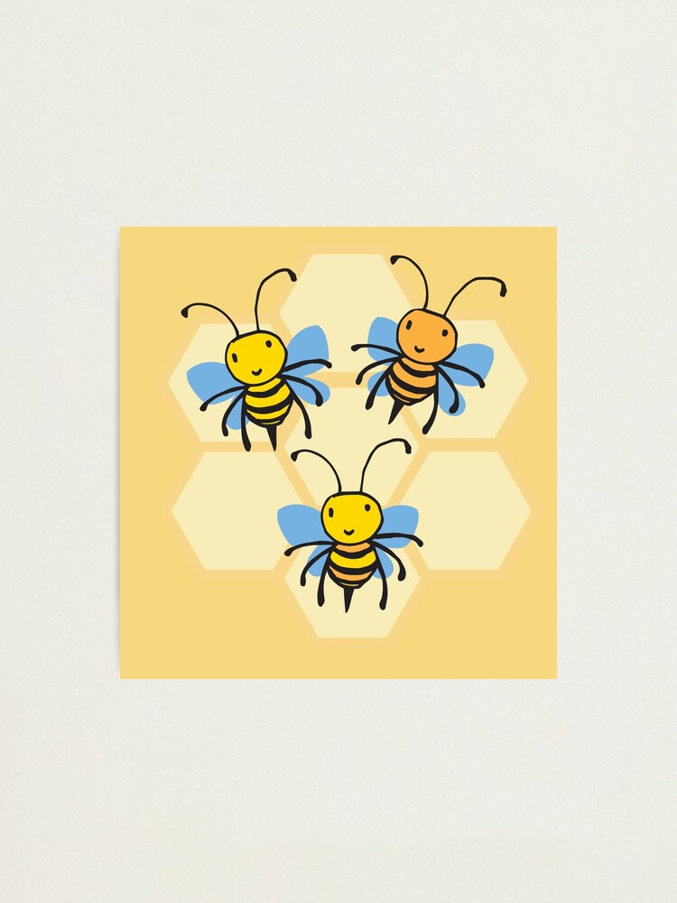 Alternate view of Save The Bees Photographic Print
