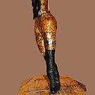 Egon Schiele's Standing girl by Thelma Van Rensburg
