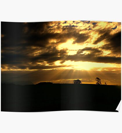 Sunbeams from Heaven Poster