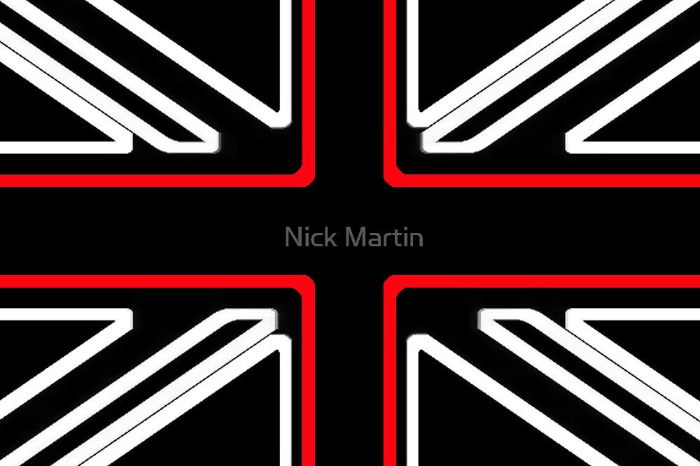 St Georges Cross by Nick Martin