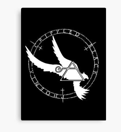 Crippled Black Phoenix 2015 A.D. (White V.2) Canvas Print