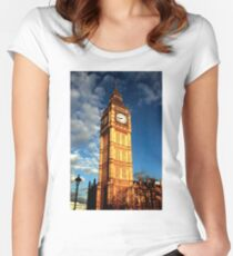 Always on time Women's Fitted Scoop T-Shirt
