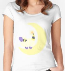 Moon Mareep Women's Fitted Scoop T-Shirt