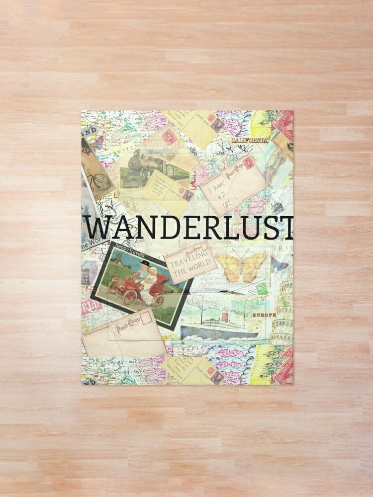 Alternate view of Wanderlust Travel Quote Comforter