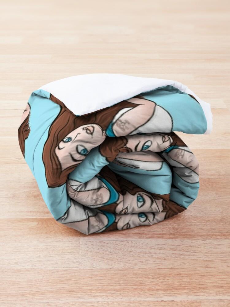 Alternate view of SAM from Cobra Kai Comforter