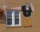 Bluto and Weedle Hen, Chester, Illinois, USA by Margaret  Hyde