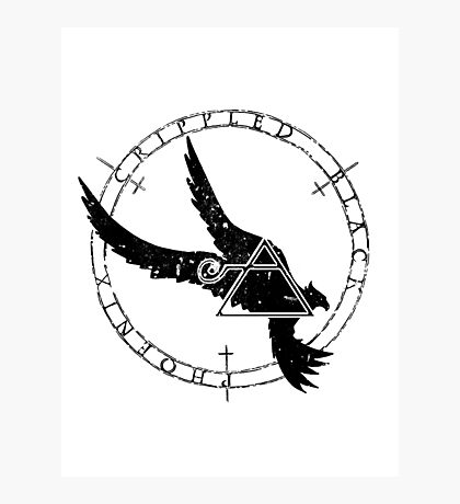 Crippled Black Phoenix 2015 A.D. (Black V.1) Photographic Print