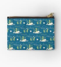 Very Hungry Whale Zipper Pouch