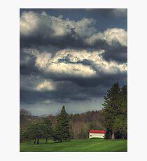 Fairway Cloudscape Photographic Print