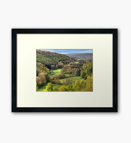 The View from Treacle Mansion Framed Print