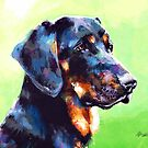 Coonhound by MicaelaDawn