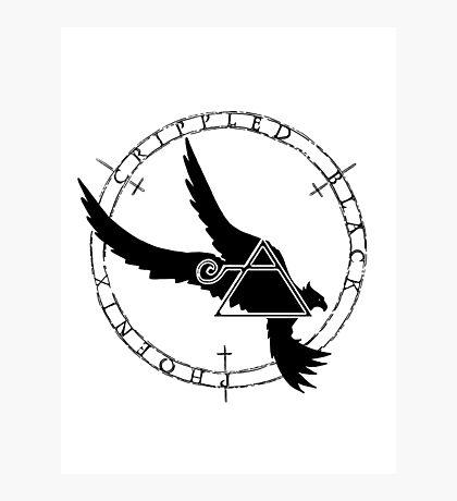 Crippled Black Phoenix 2015 A.D. (Black V.2) Photographic Print