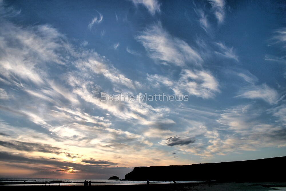 Cornish Clouds by Sophie Matthews