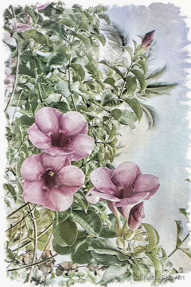 Tropical Flowers by Brenda Boisvert