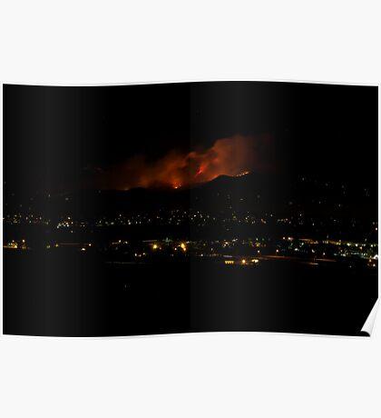 Boulder Fourmile Canyon Fire Poster