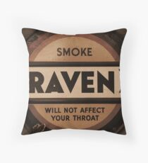 Cigarette Propaganda  Throw Pillow