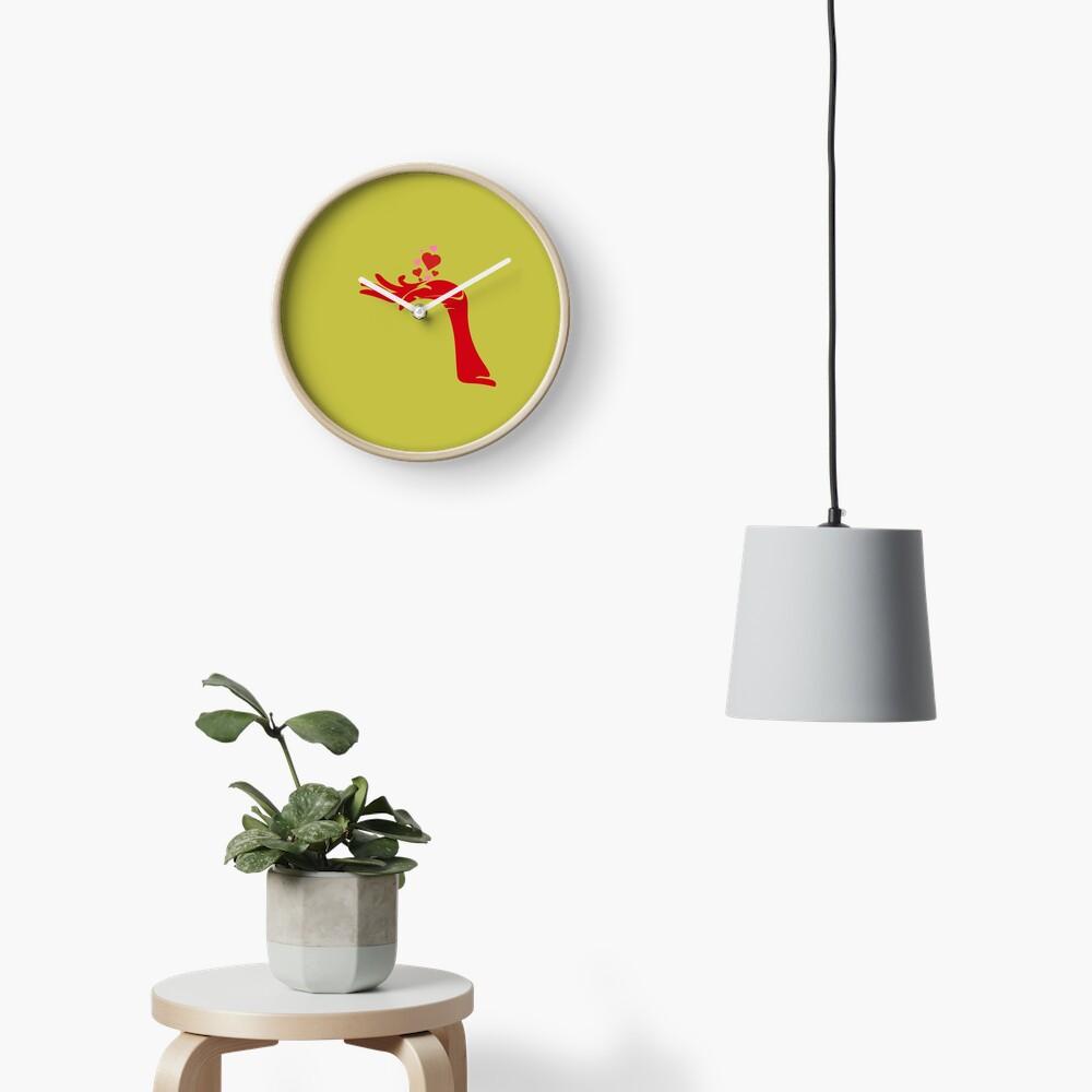 Devils heart's handfull Clock