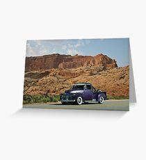 1953 Chevrolet Pickup Truck Greeting Card