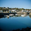 Portpatrick Harbour by Chris Cardwell