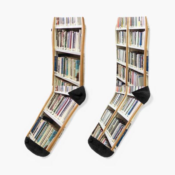 State Library of Western Australia bookshelves  Socks