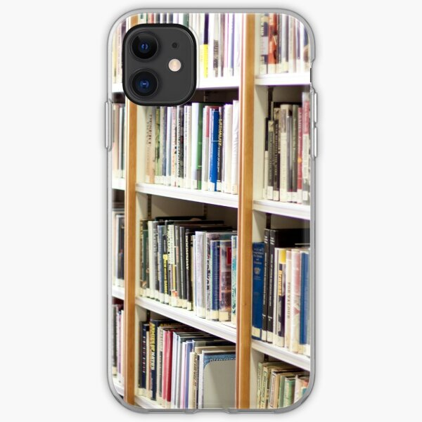 State Library of Western Australia bookshelves  iPhone Soft Case