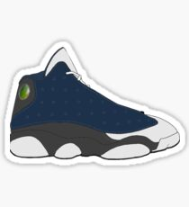 "Air Jordan XIII (13) ""Flint"" Sticker"