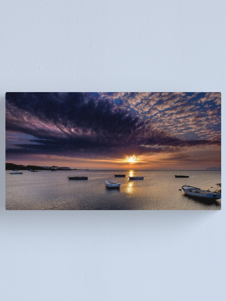 Alternate view of Marsala sunset Canvas Print