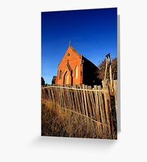 Forgotten and Abandoned - HILL END NSW Greeting Card