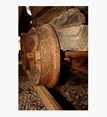 Gold Mining trolley - HILL END NSW Photographic Print