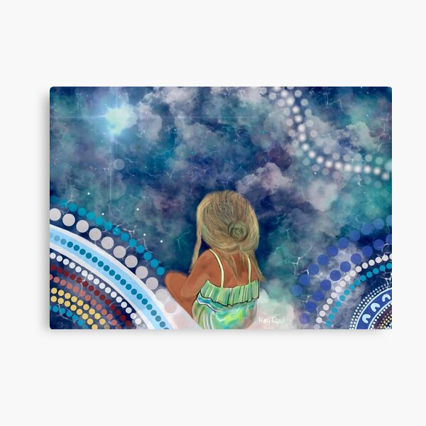 Sitting in Silence Canvas Print