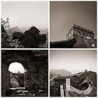 Four Perspectives of the Great Wall of China by Anthony and Kelly Rae