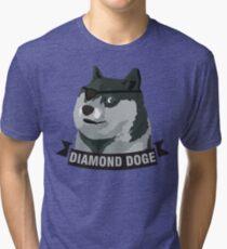 DIAMOND DOGE Tri-blend T-Shirt