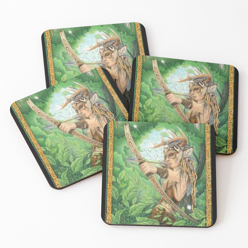 Silent Hunter Coasters (Set of 4)
